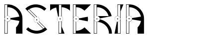 Asteria font