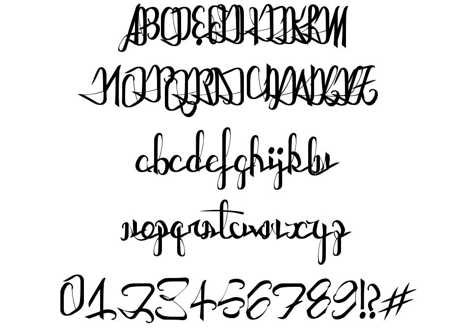 Astral Projections font