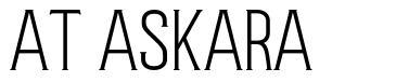 AT Askara font