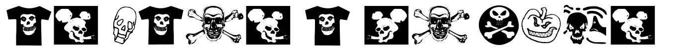 At Last A Tshirt font