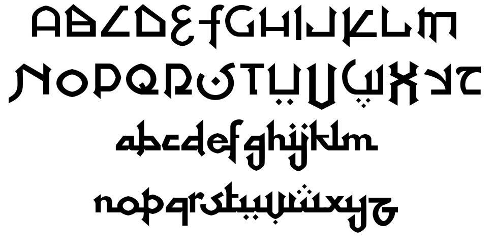 At Tupats font
