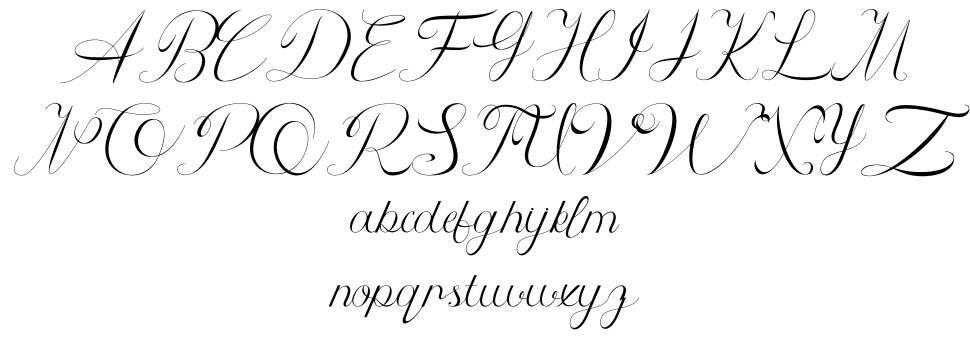 Athenia font