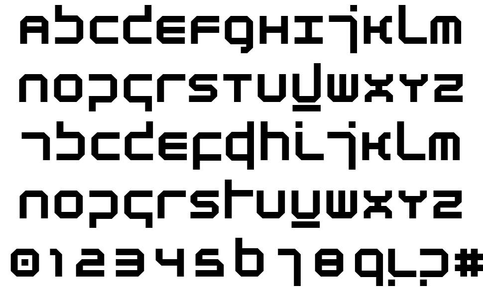 Atmosphere font