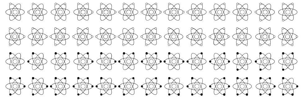 Atom Braille font