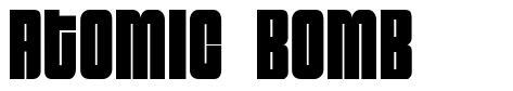 Atomic Bomb шрифт