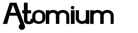 Atomium font