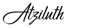 Atziluth font