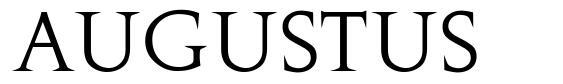 Augustus font