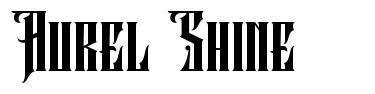 Aurel Shine フォント