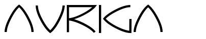 Auriga шрифт