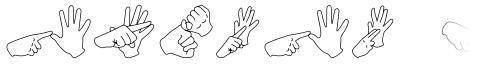 Auslan Finger Spelling