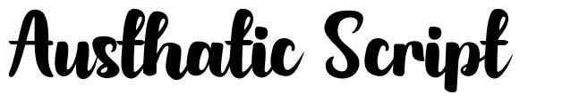 Austhatic Script police