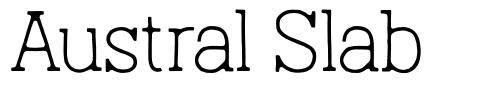 Austral Slab フォント