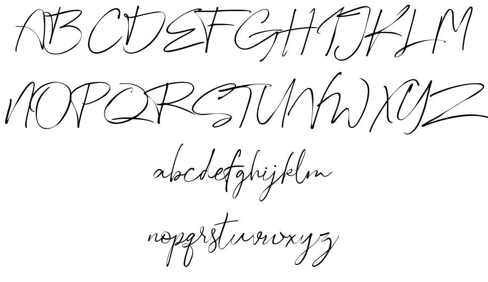 Australia шрифт