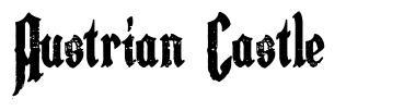 Austrian Castle font