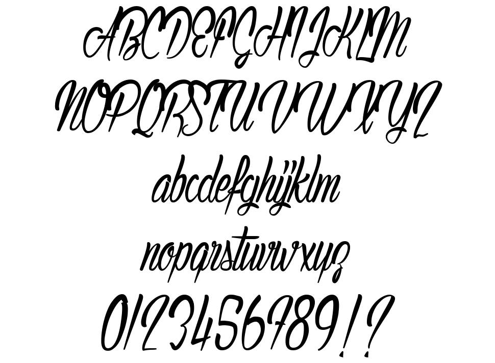 Authentic Hilton font