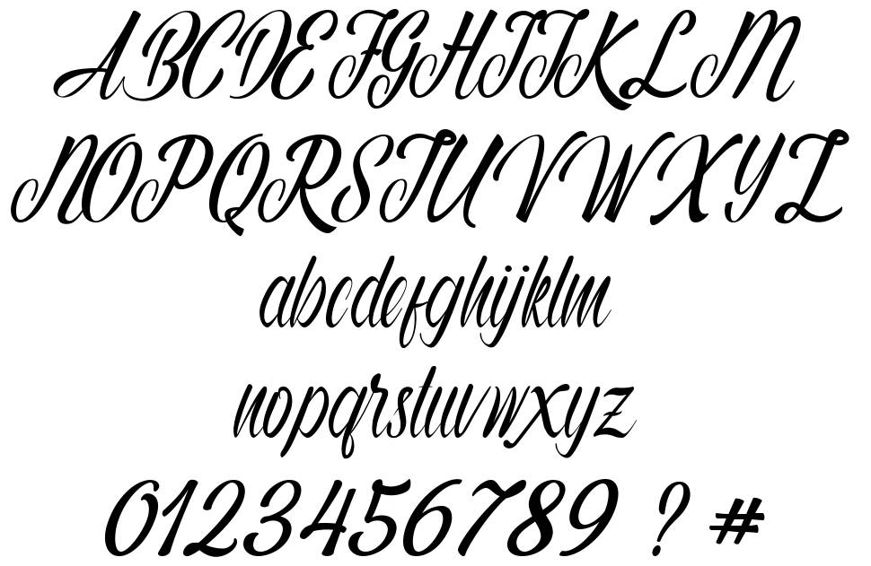 Autumn Flower font