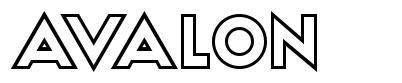Avalon font