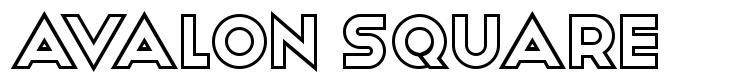 Avalon Square font