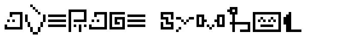 Average symbol फॉन्ट