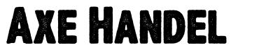 Axe Handel font