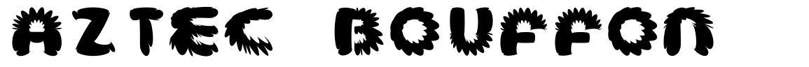 Aztec Bouffon font