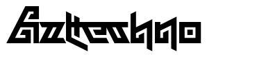 Aztechno font