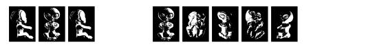 Baby Alien font