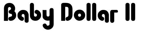 Baby Dollar ll font
