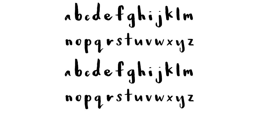 Baby Fox font