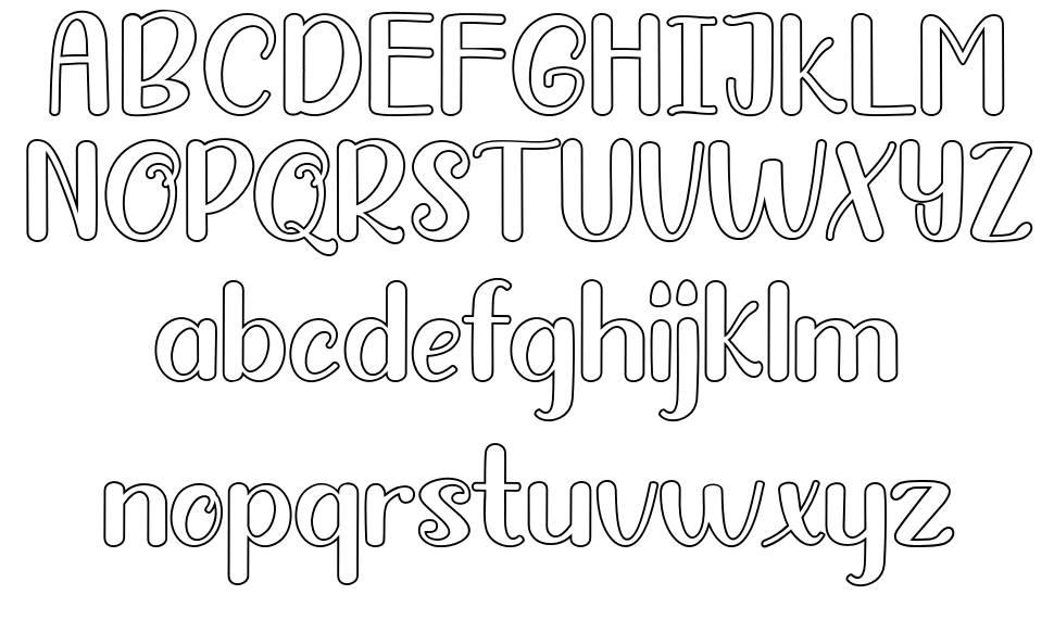 Baby Master font