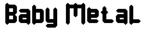 Baby Metal font