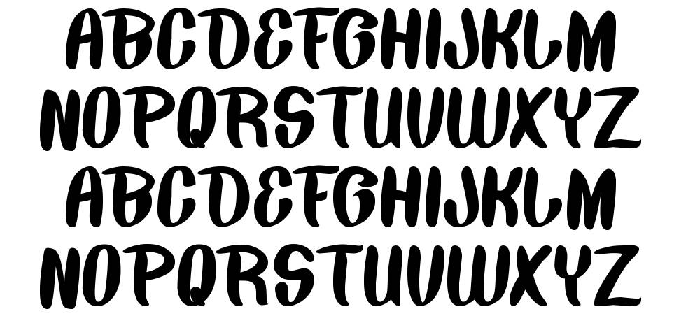 Back To Nature font