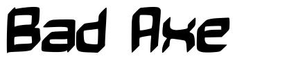Bad Axe font