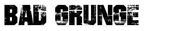 Bad Grunge font