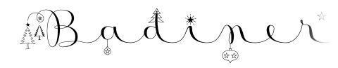 Badinerie Christmas