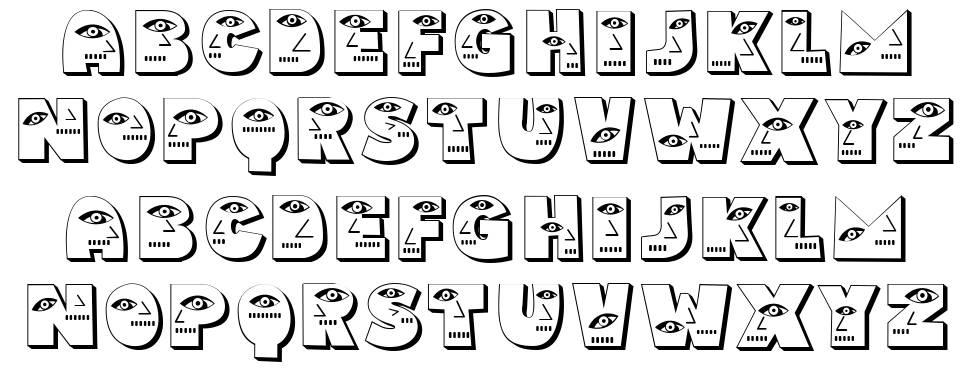 Bahanalia font