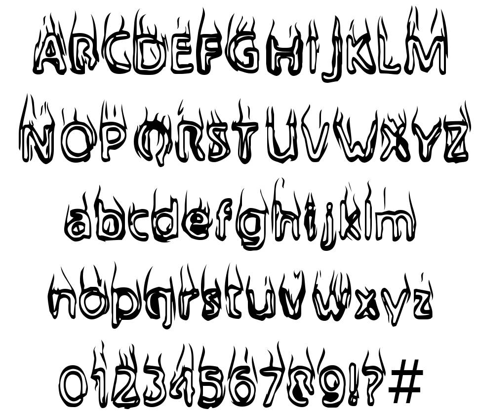 Bailey's Car font