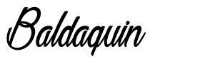 Baldaquin