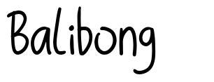 Balibong fuente