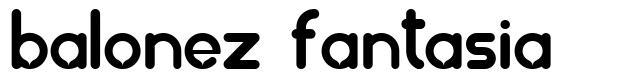 Balonez Fantasia font