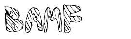 BAMF font