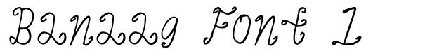 Banaag Font 1