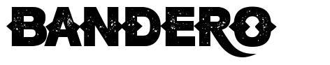 Bandero フォント