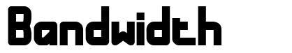 Bandwidth font