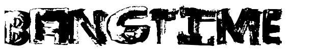 BangTime font