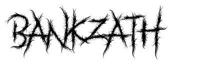 Bankzath font