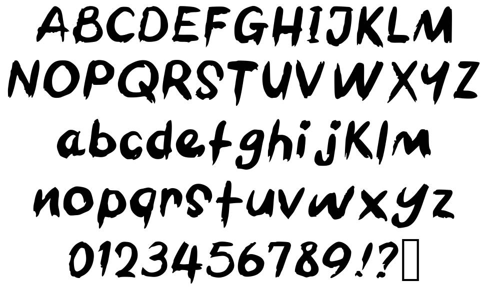 Barbecue Chicken font