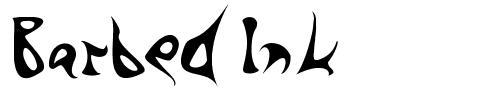 Barbed Ink