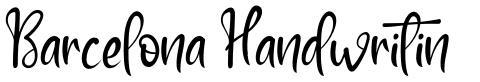Barcelona Handwritin